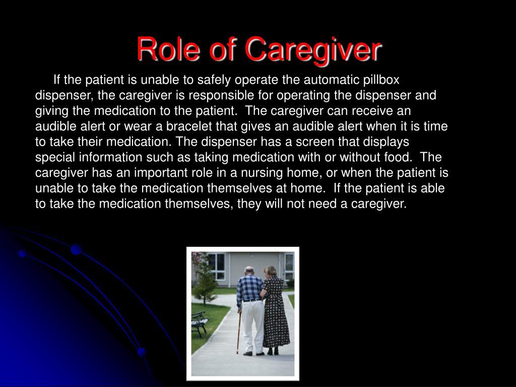 Role of Caregiver