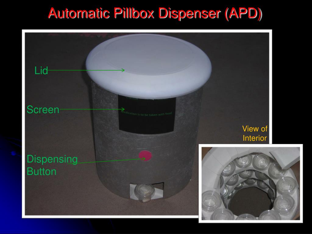 Automatic Pillbox Dispenser (APD)