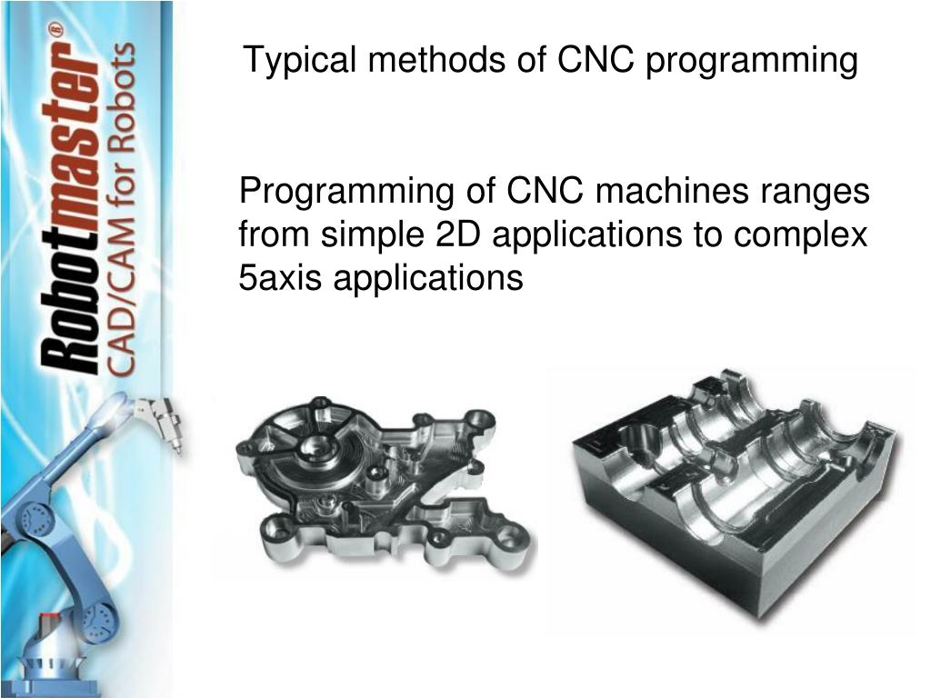 Typical methods of CNC programming