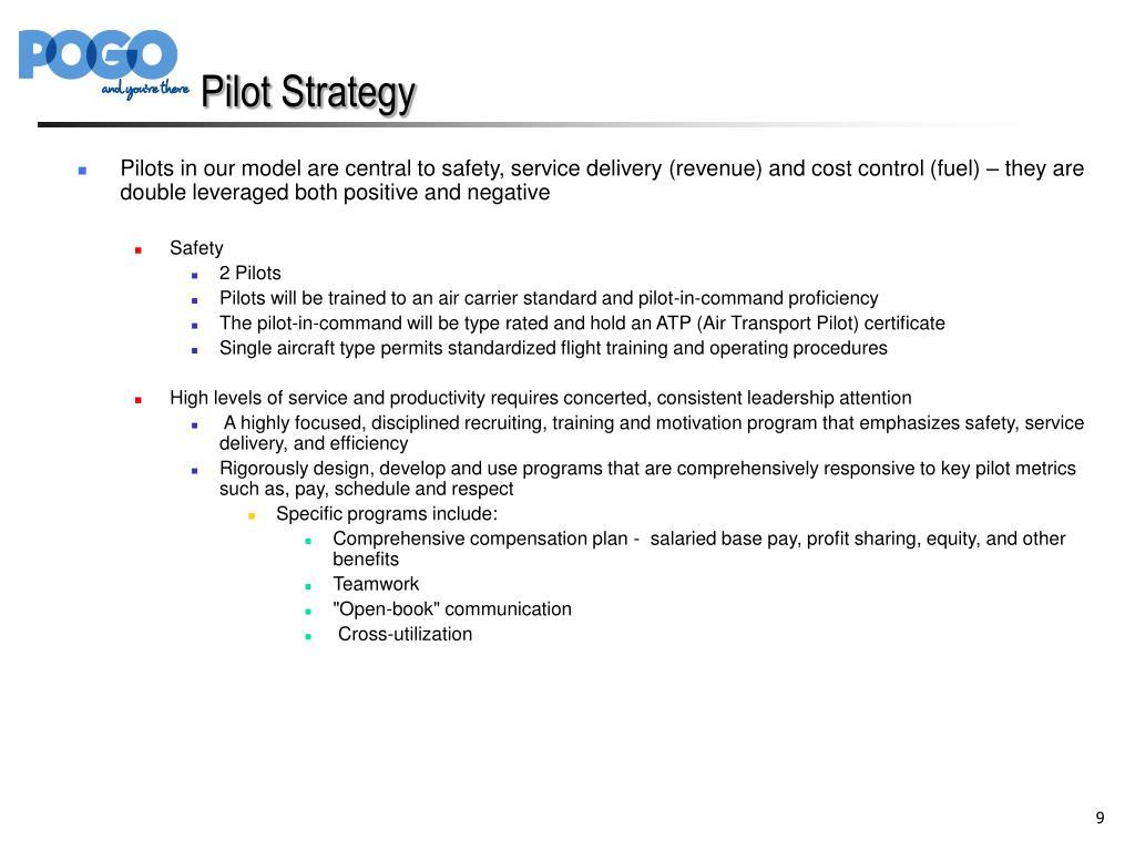 Pilot Strategy