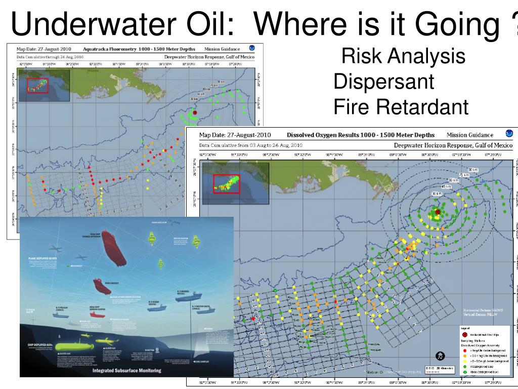 Underwater Oil:  Where is it Going ?