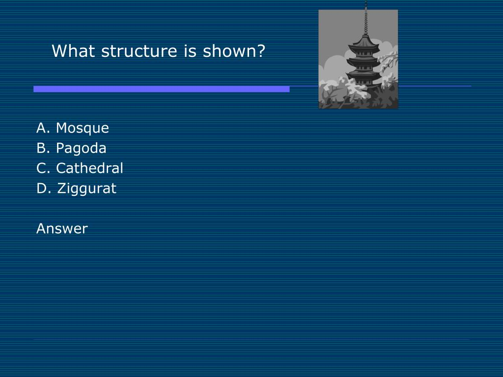 What structure is shown?
