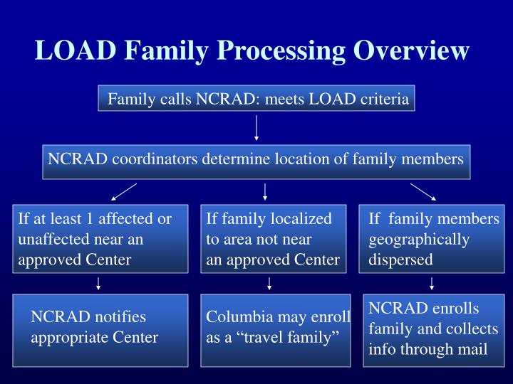 Load family processing overview