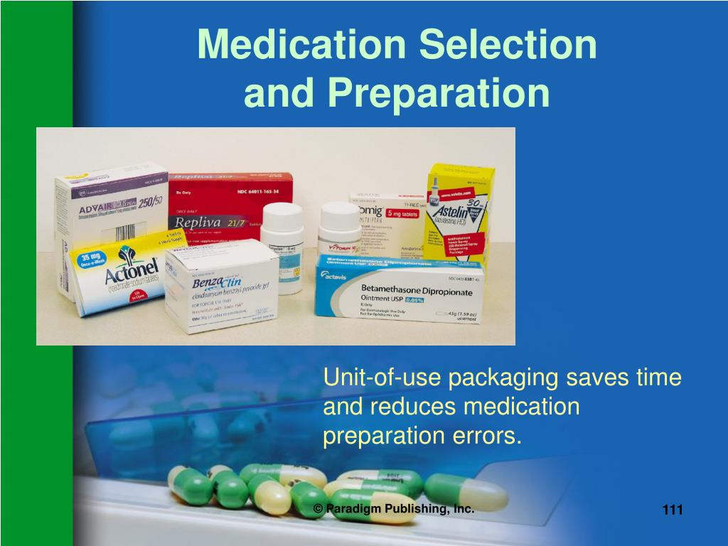 Medication Selection