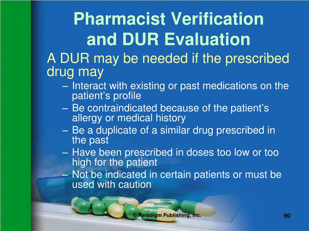 Pharmacist Verification