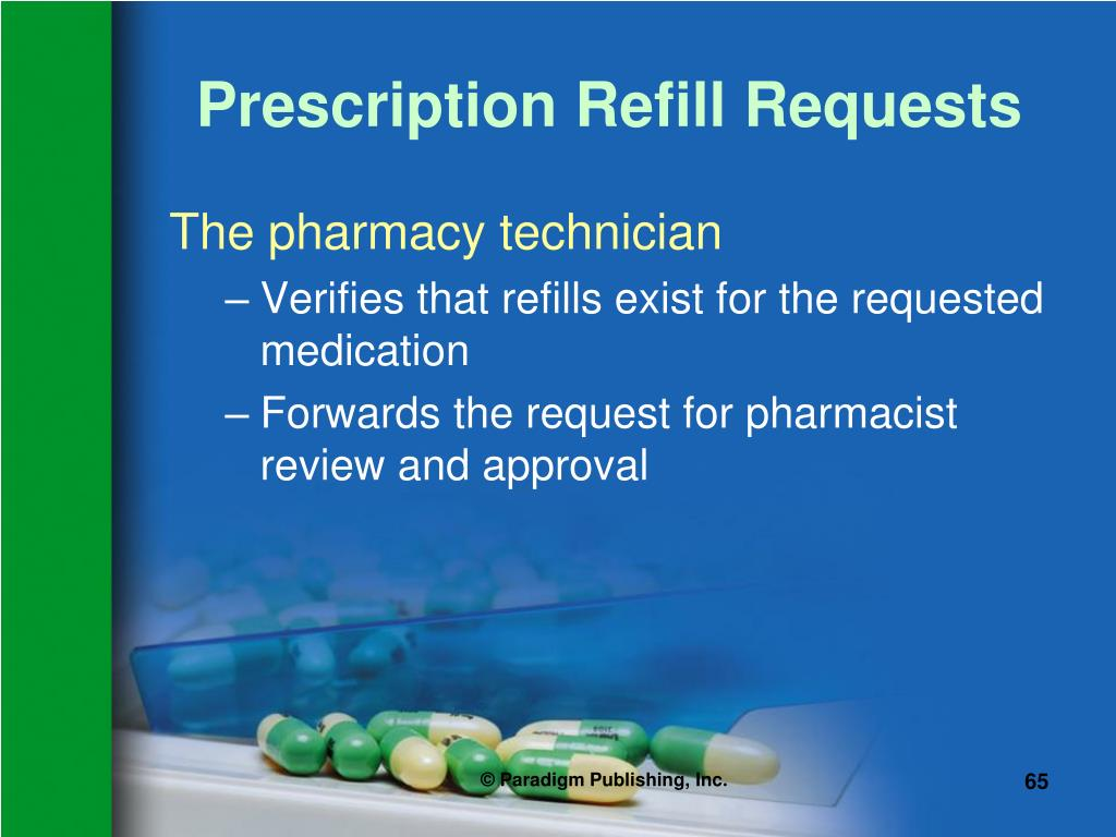 Prescription Refill Requests