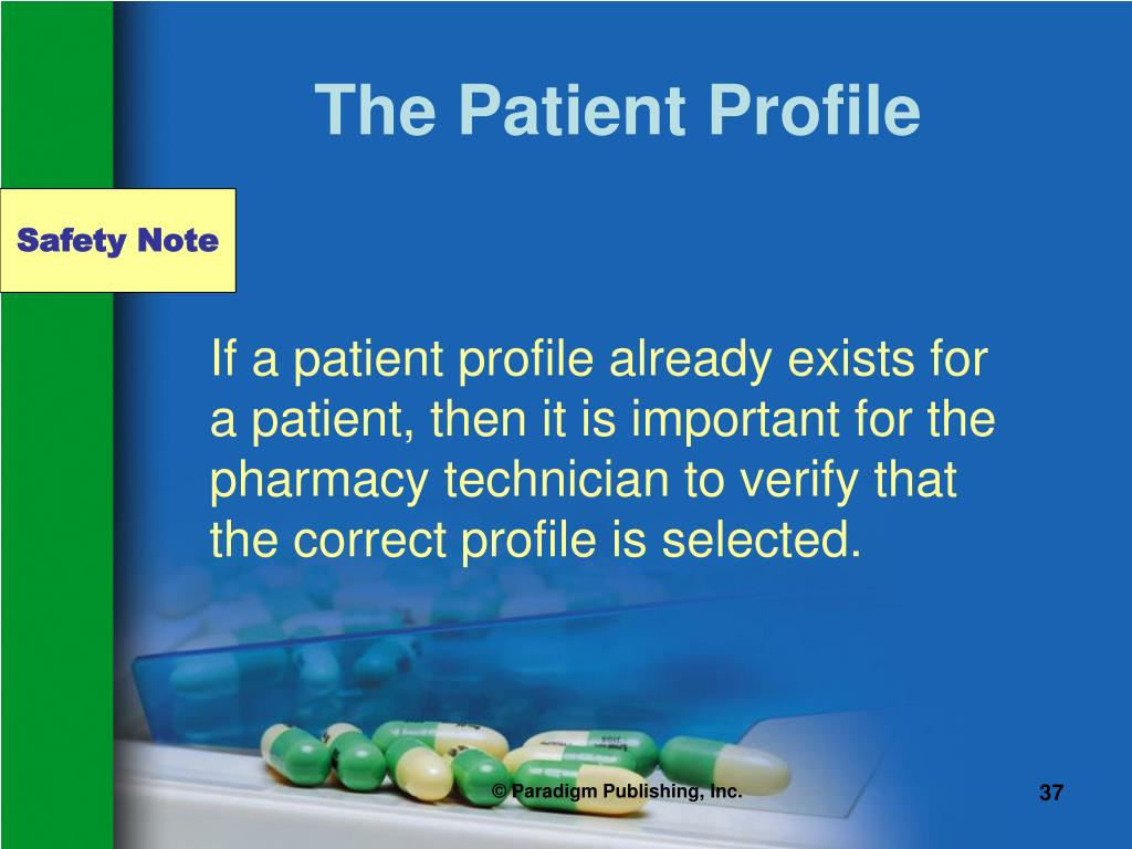 The Patient Profile