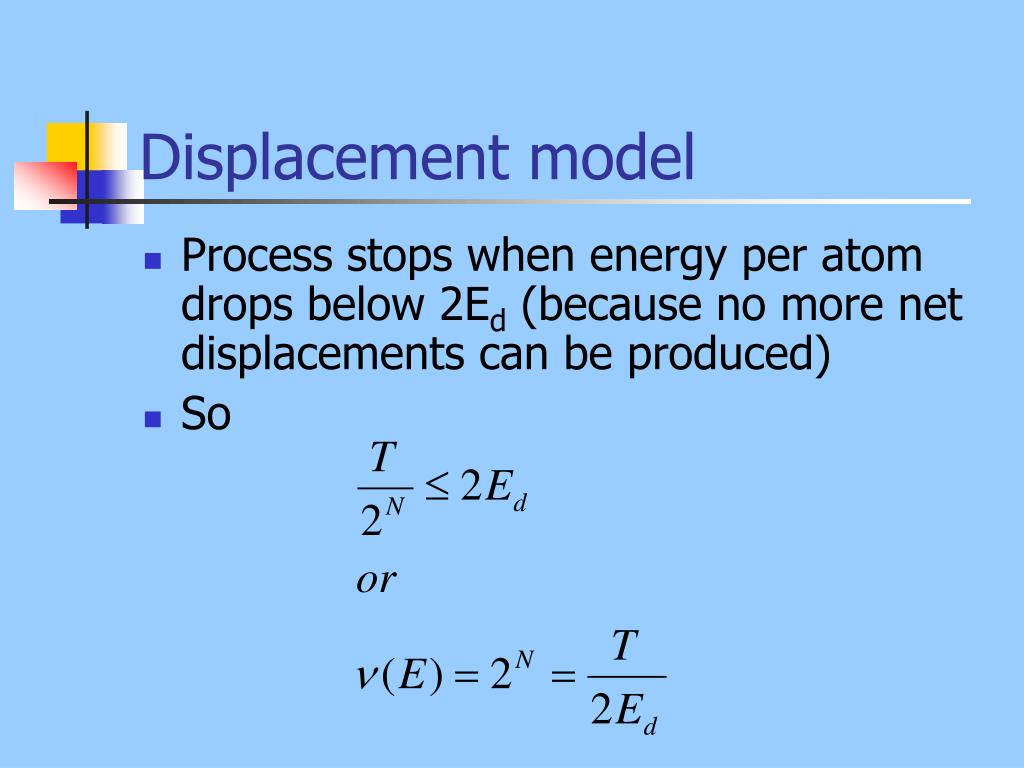 Displacement model