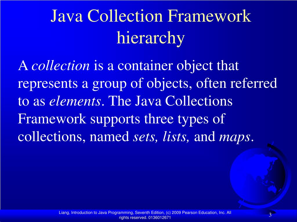 Java Collection Framework hierarchy