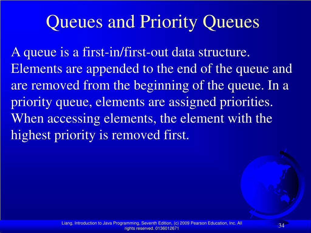 Queues and Priority Queues