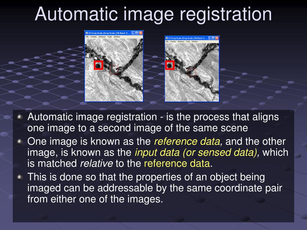 Automatic image registration