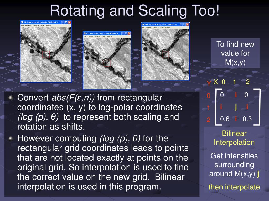 Rotating and Scaling Too!