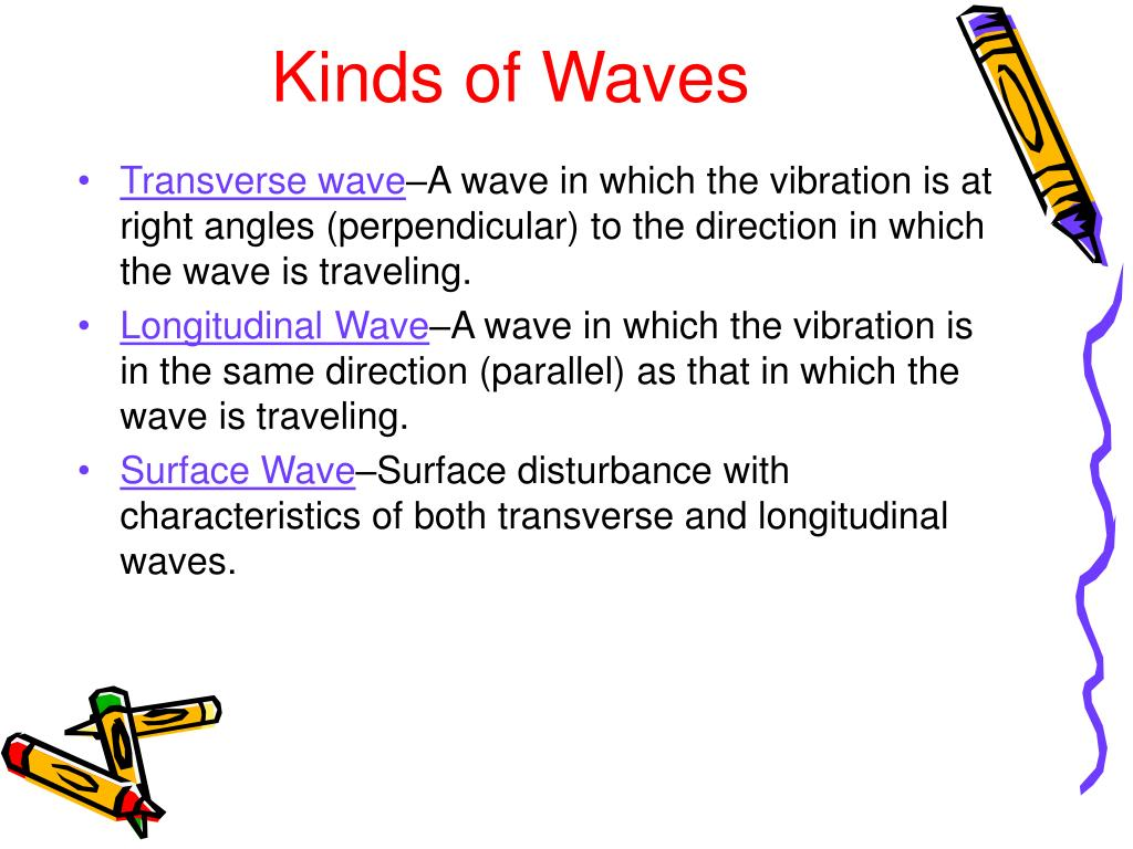Kinds of Waves
