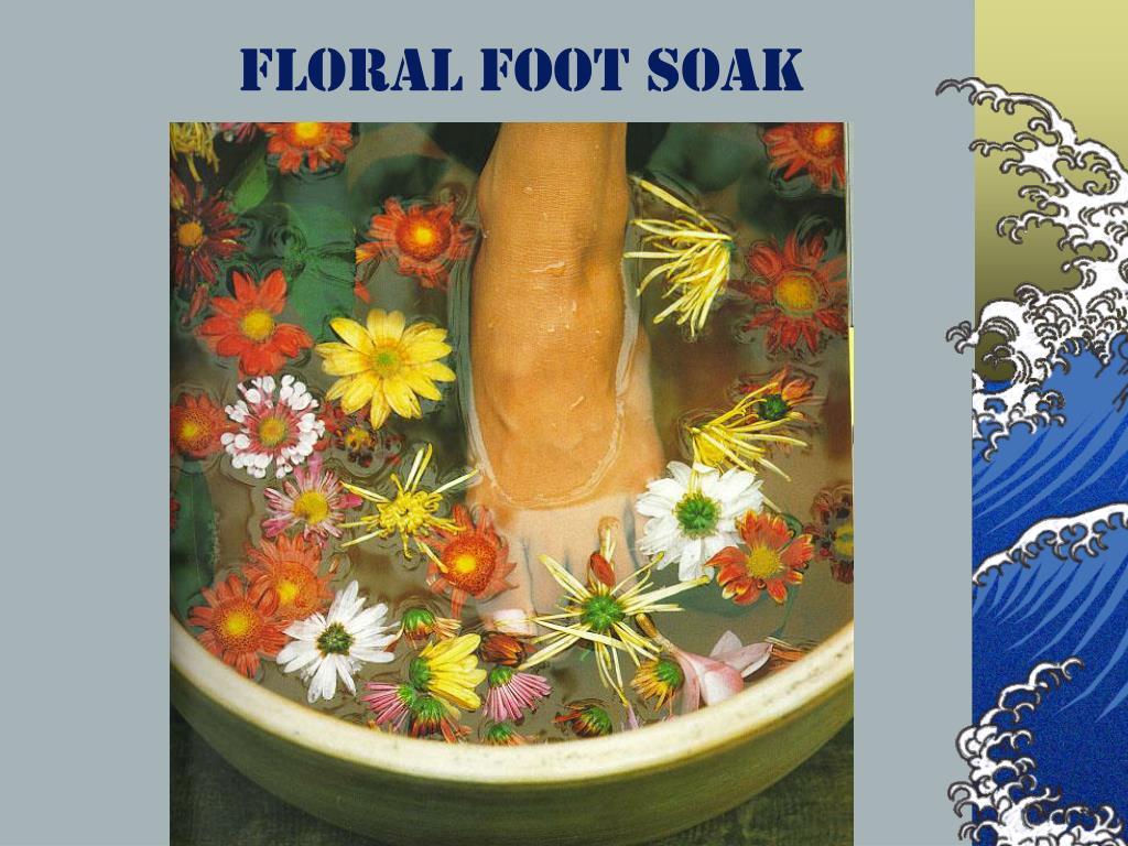 Floral Foot Soak