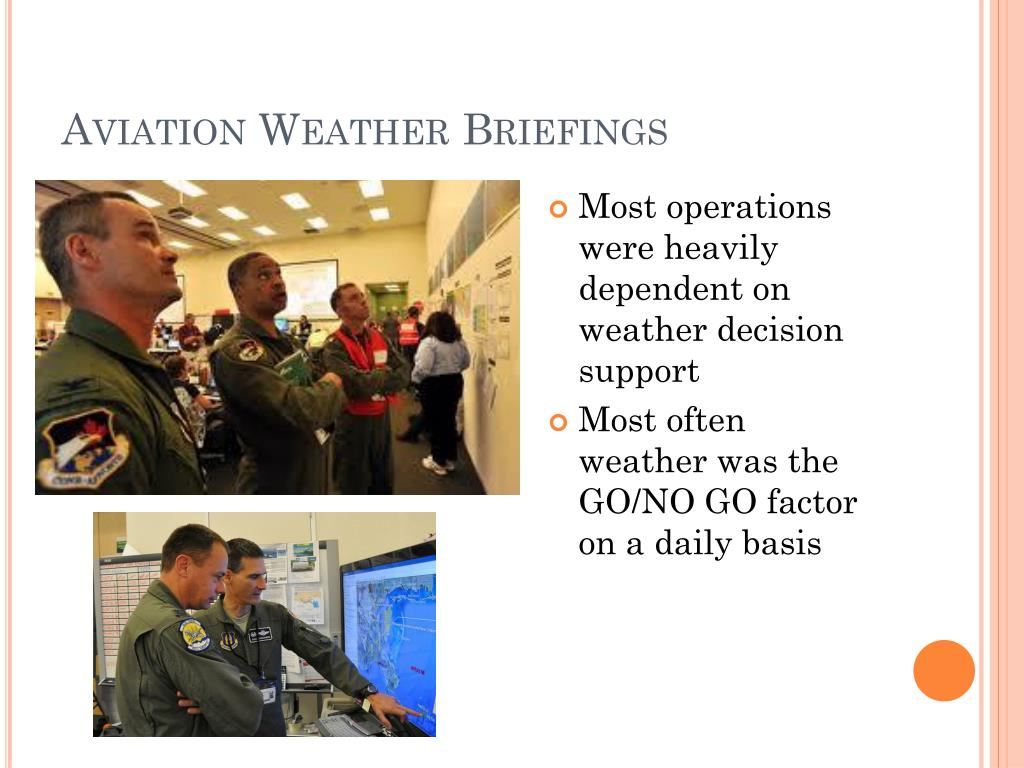 Aviation Weather Briefings