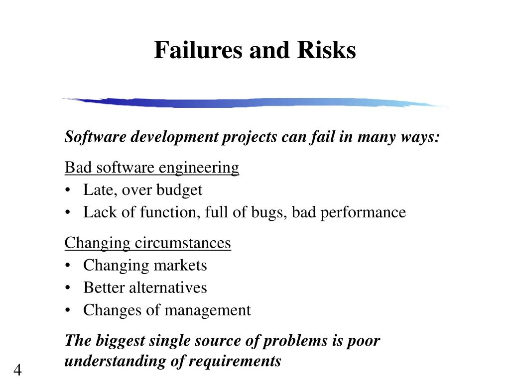 Failures and Risks