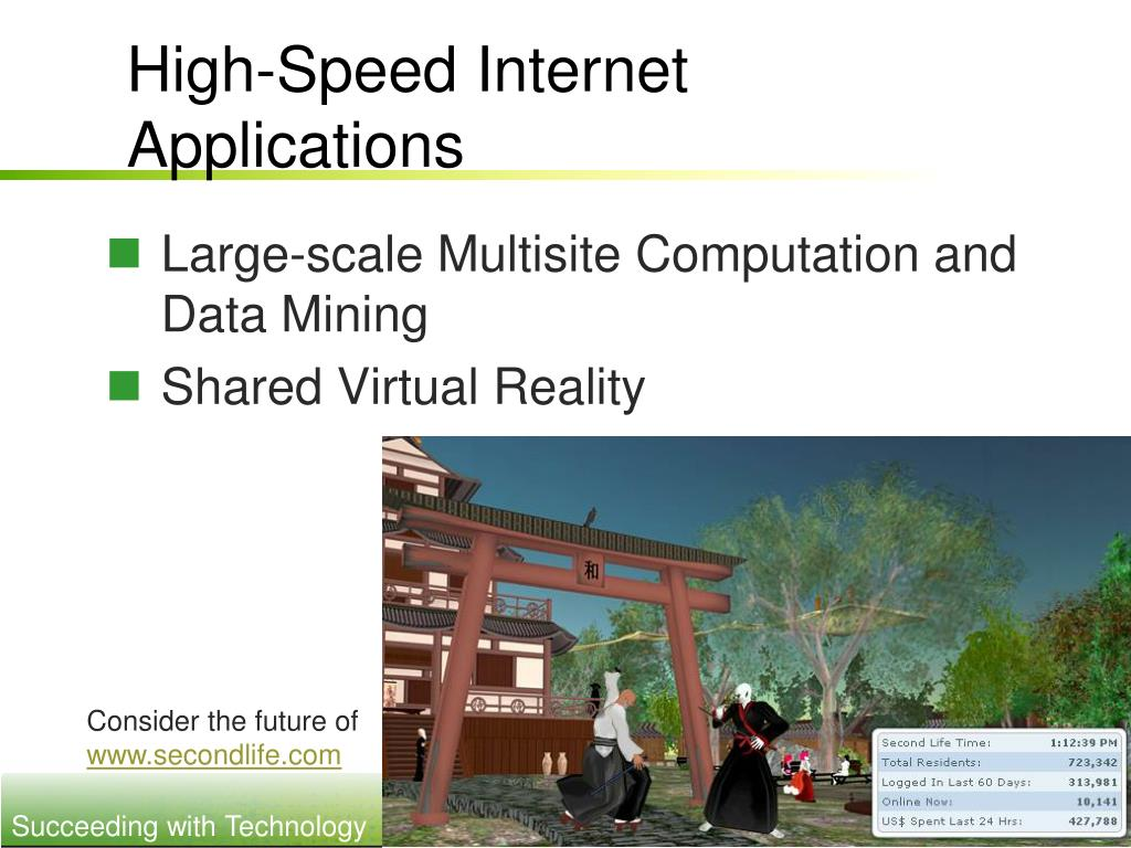 High-Speed Internet Applications