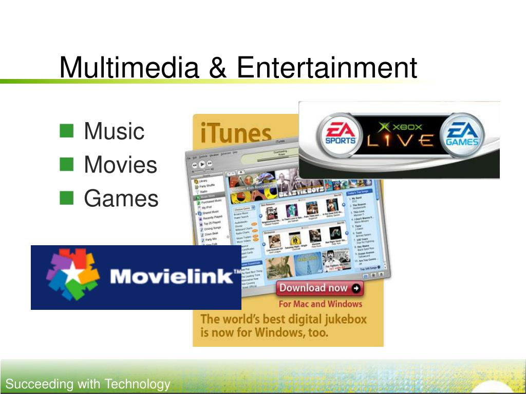 Multimedia & Entertainment