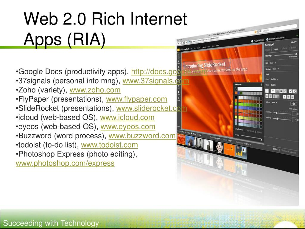Web 2.0 Rich Internet