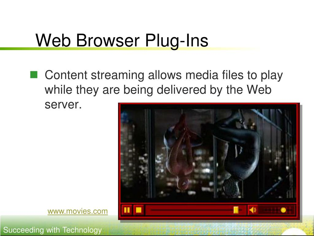 Web Browser Plug-Ins