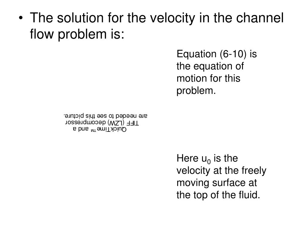 Equation (6-10) is the equation of motion for this problem.