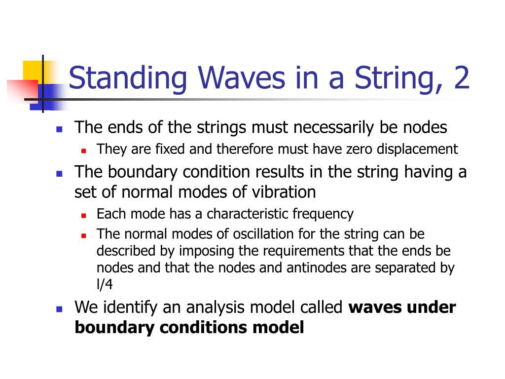 Standing Waves in a String, 2