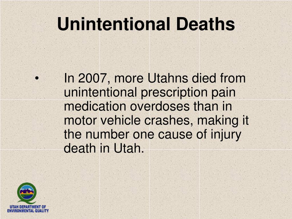 Unintentional Deaths