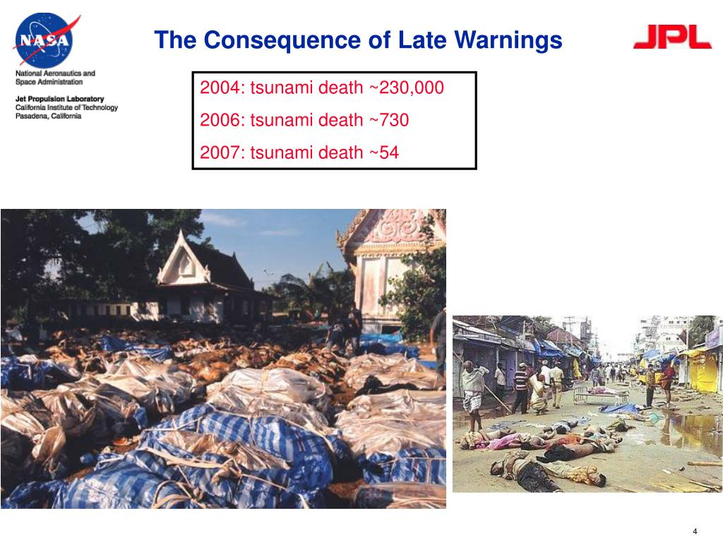 The Consequence of Late Warnings