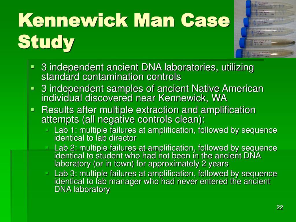 Kennewick Man Case Study