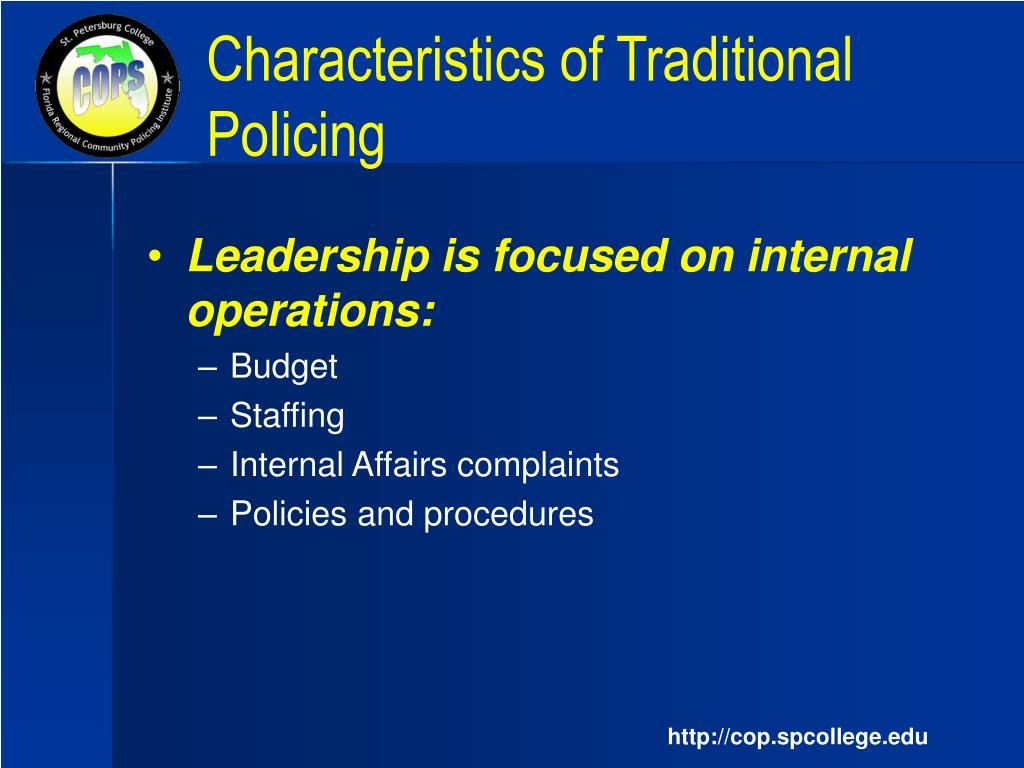 community based policing Community based policing concept: extensive research on the implementation of community policing in other us cities has established that there.