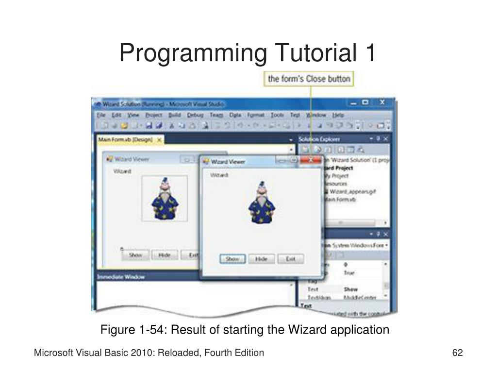 Programming Tutorial 1