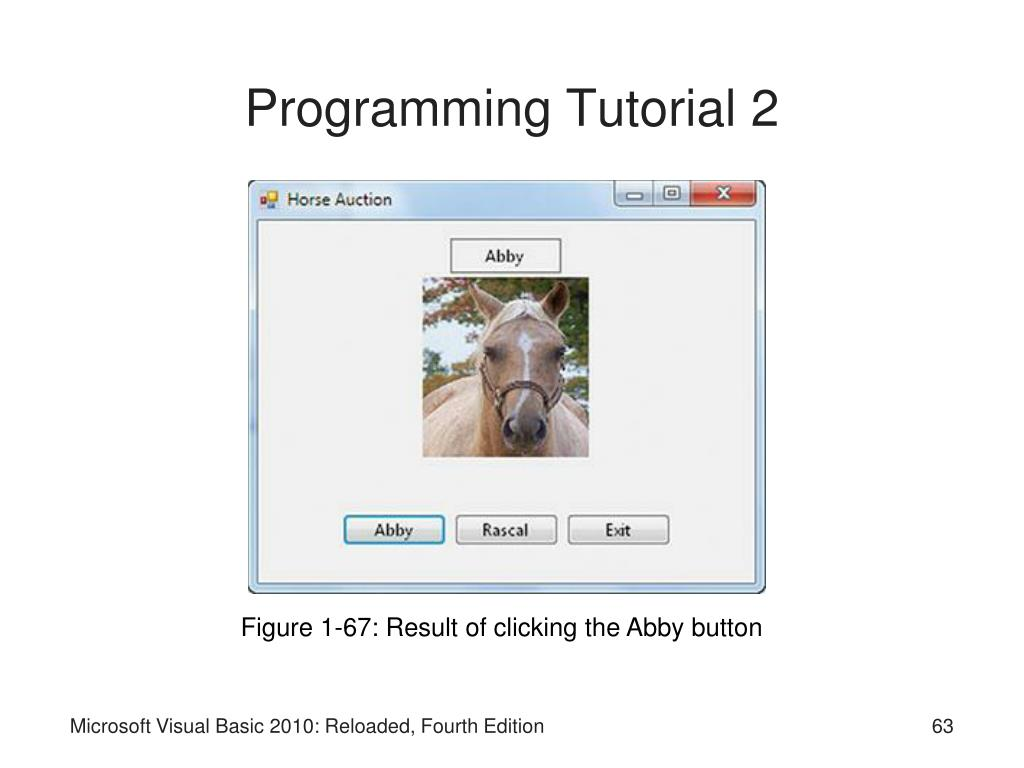 Programming Tutorial 2
