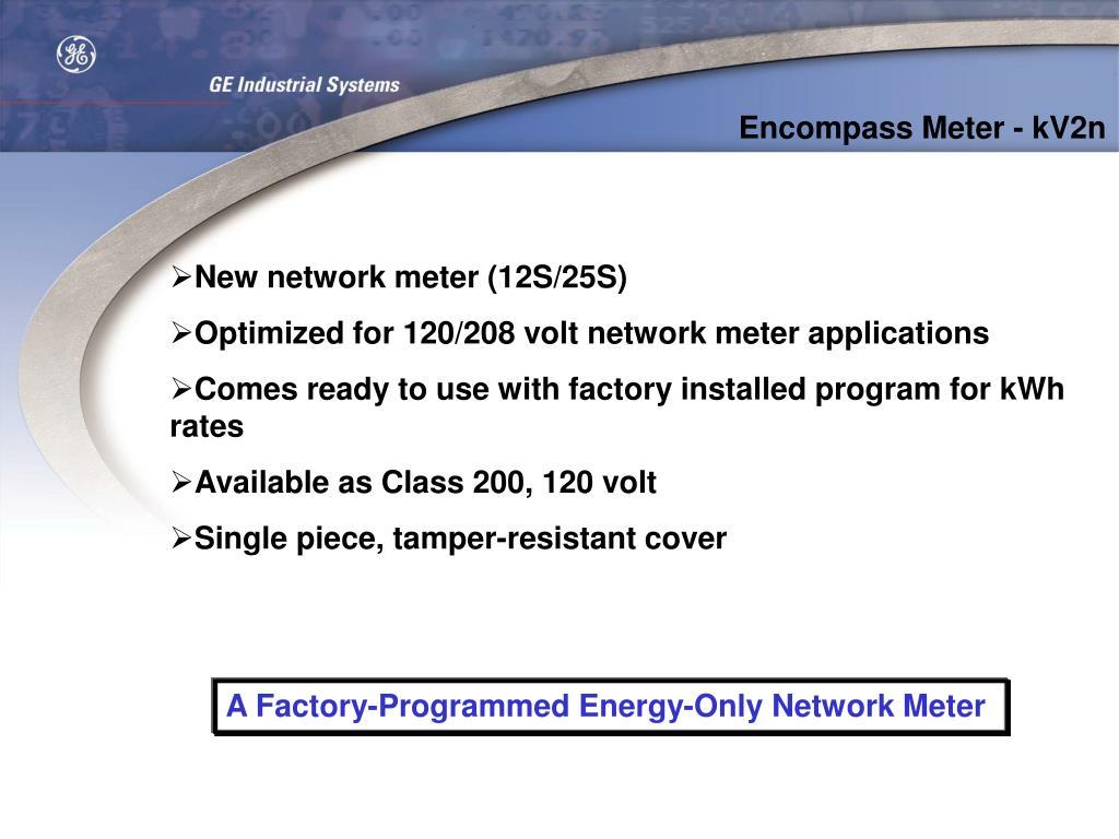 Encompass Meter - kV2n