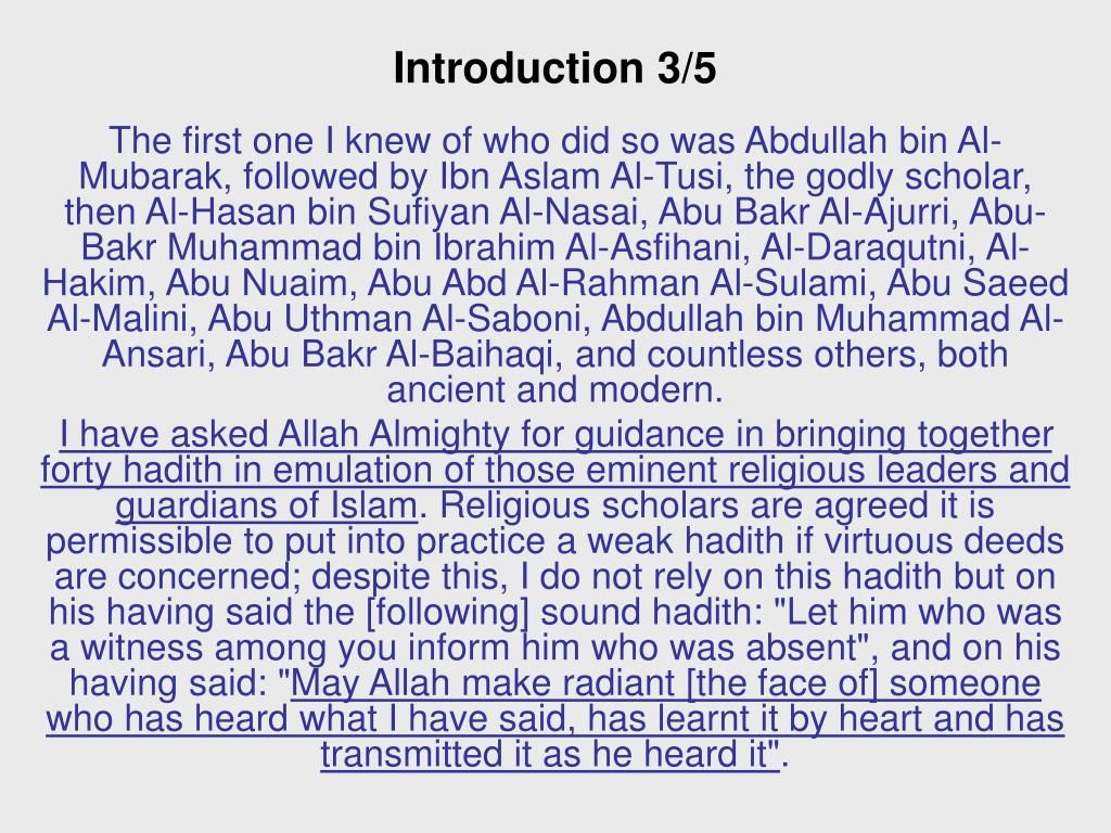 Introduction 3/5