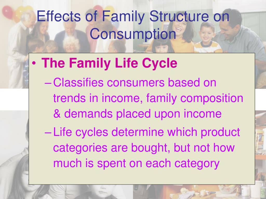 Effects of Family Structure on Consumption