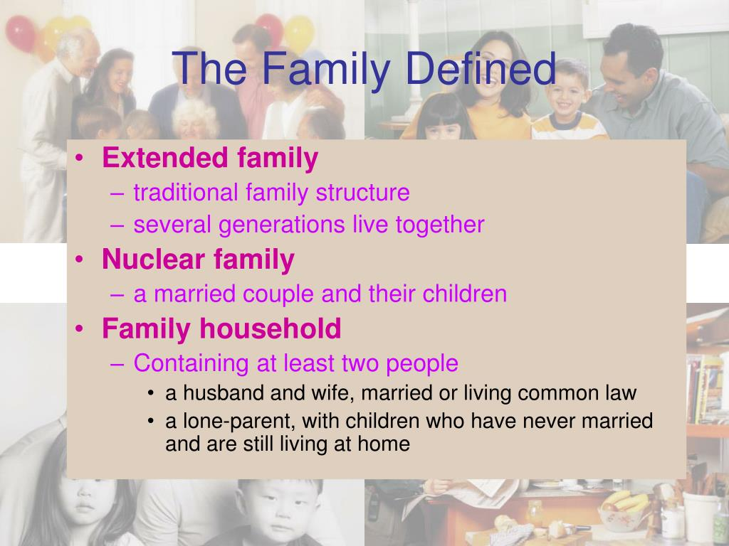 The Family Defined