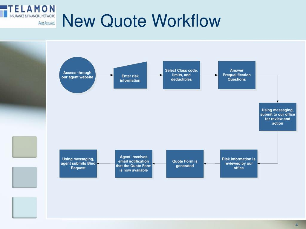 New Quote Workflow