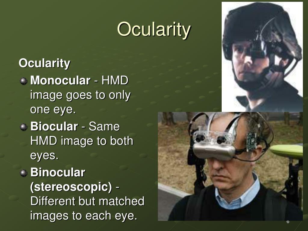 Ocularity