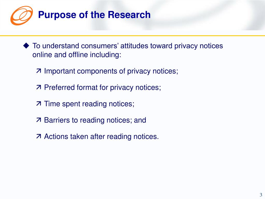 Purpose of the Research