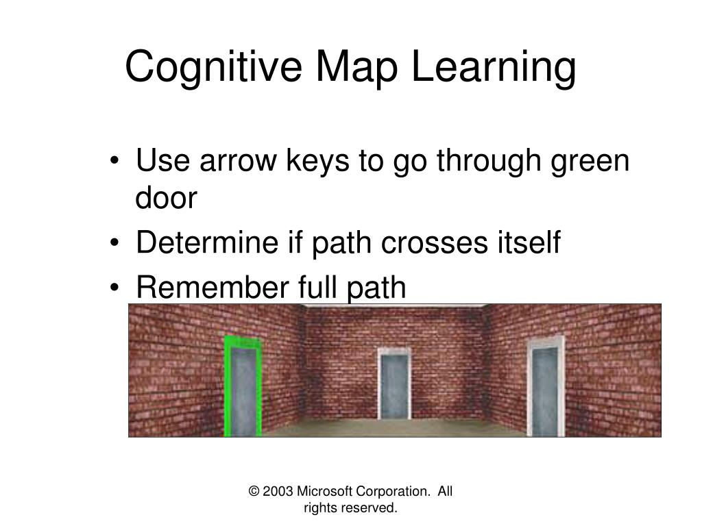 Cognitive Map Learning