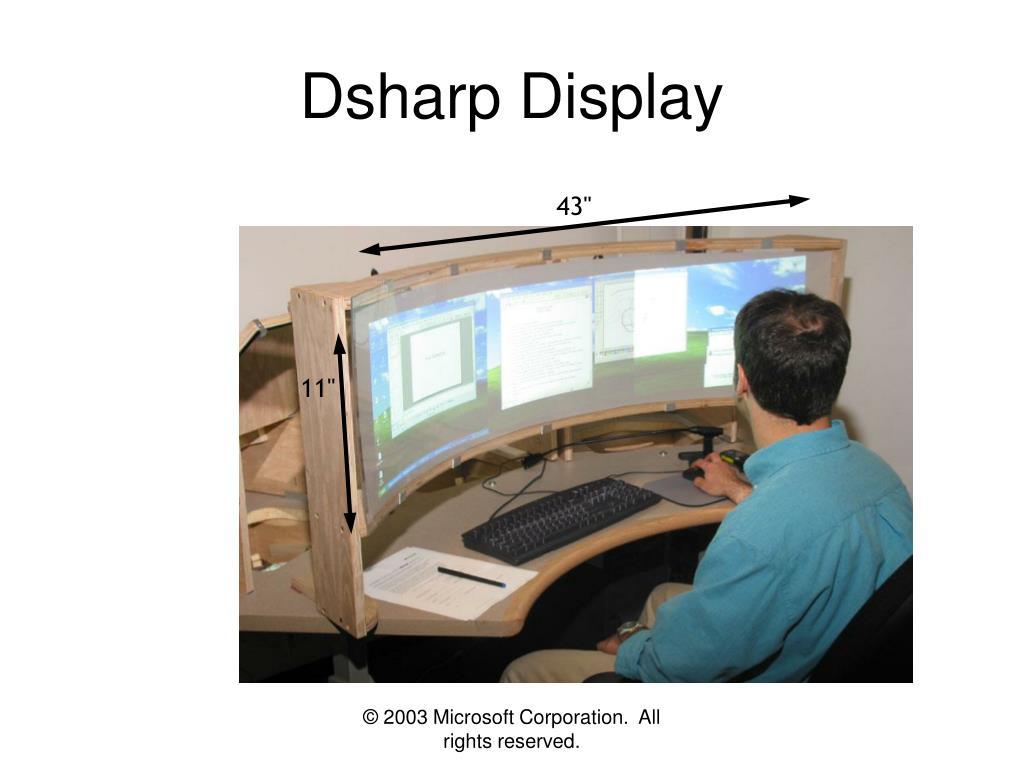 Dsharp Display