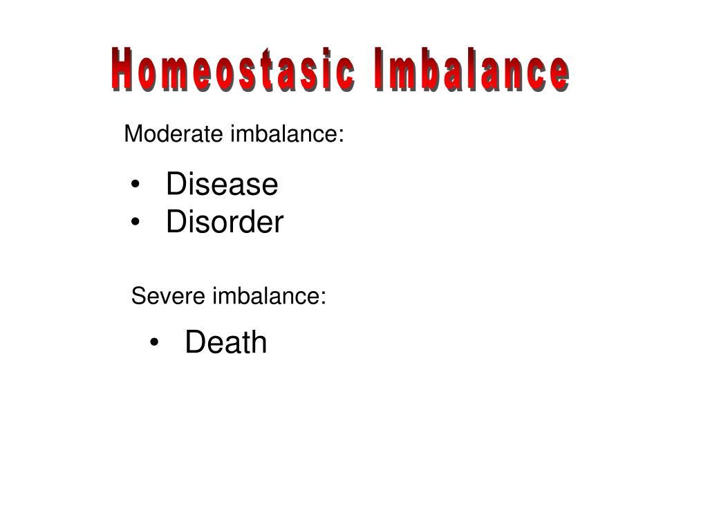 Homeostasic Imbalance