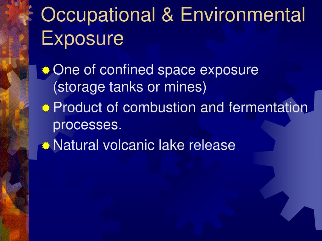 Occupational & Environmental Exposure