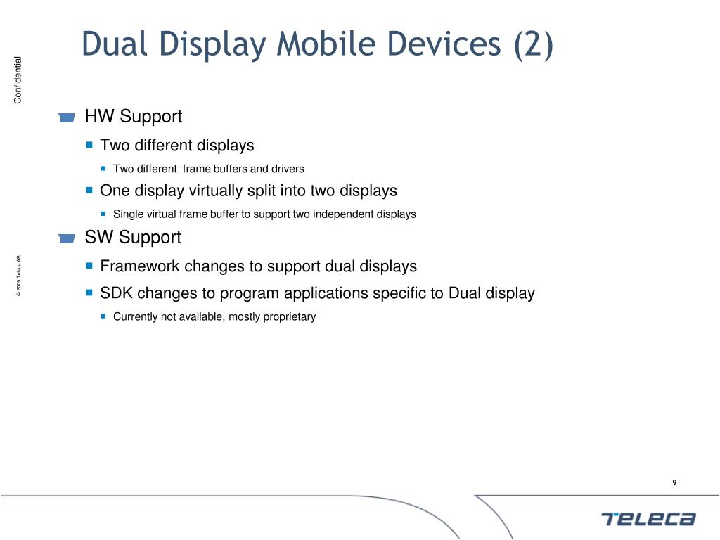 Dual Display Mobile Devices (2)