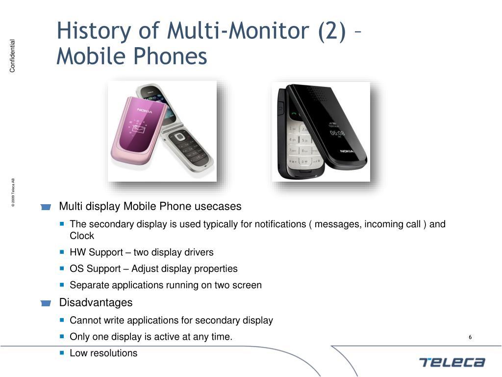 History of Multi-Monitor (2) –