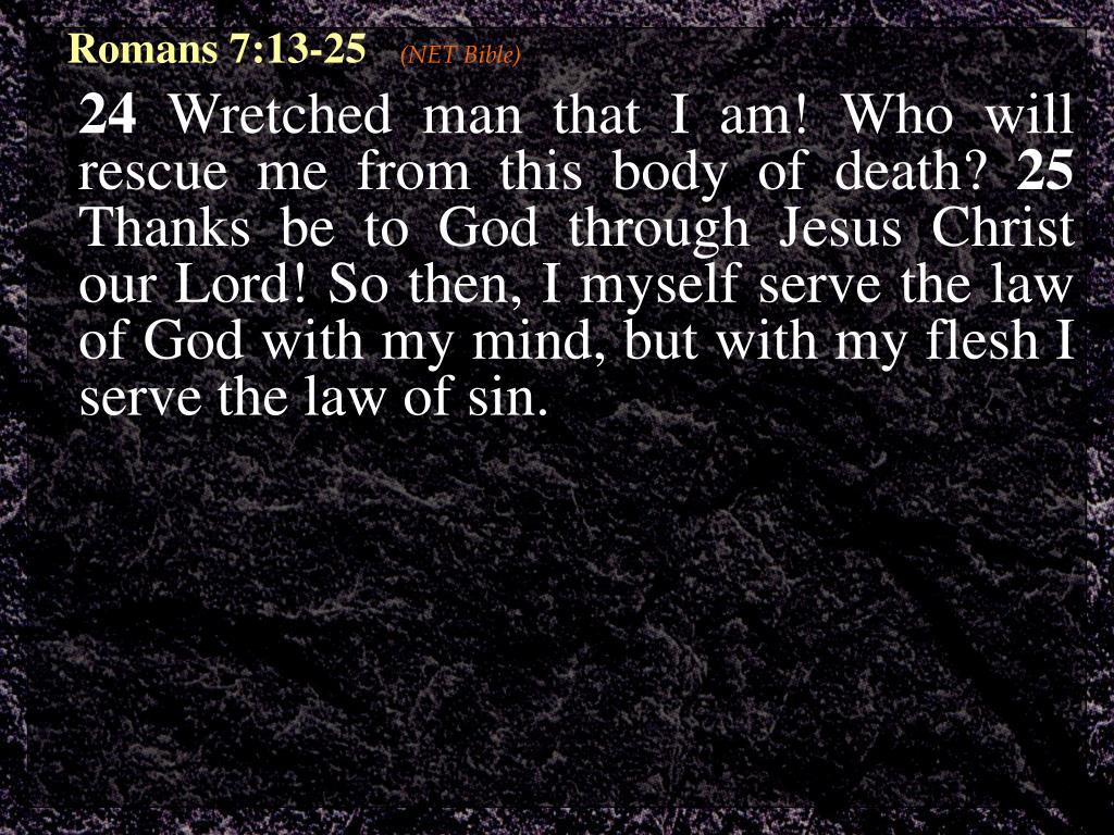 Romans 7:13-25