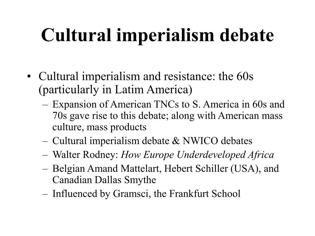Cultural imperialism debate