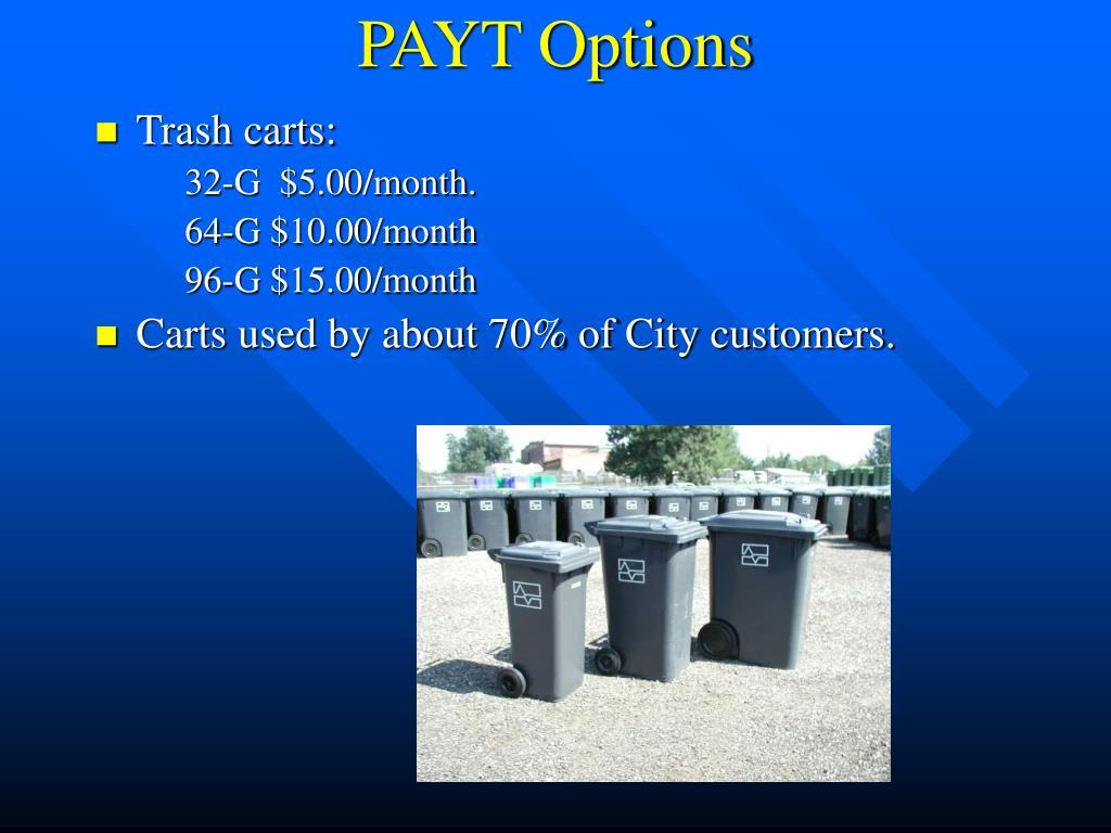 PAYT Options