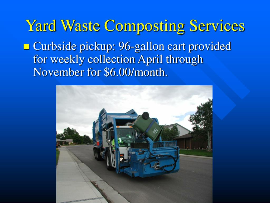 Yard Waste Composting Services