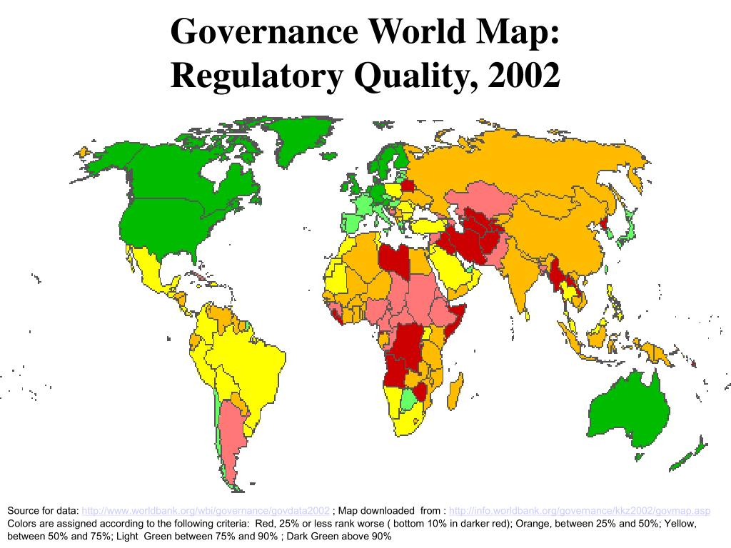 Governance World Map: